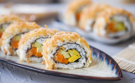 肉松寿司卷,超级反转