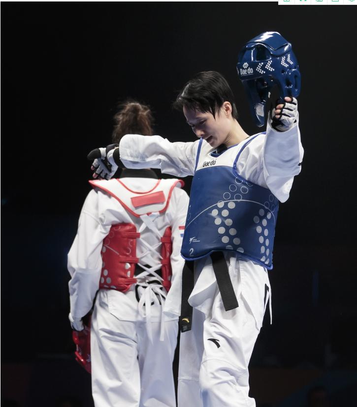 吴靖宇增强体质,增强信心,全力冲刺第四届奥运会