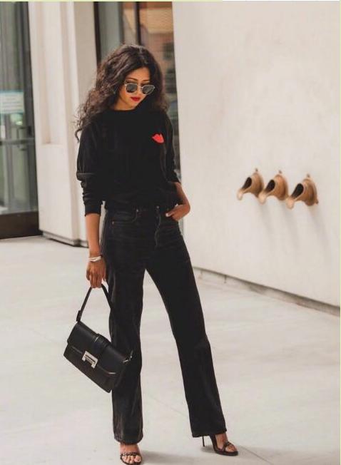 洛杉矶时尚博客作者谢丽尔·卢克的强烈现代风格