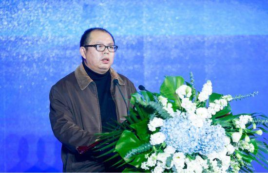 图为重庆市万州区人民政府副区长涂立军现场致辞。主办方供图