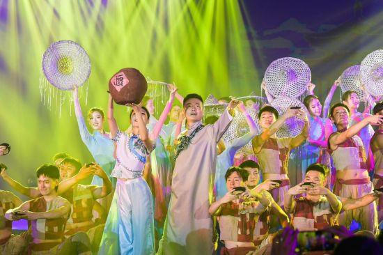 图为歌舞剧《夜雨寄北》表演。主办方供图