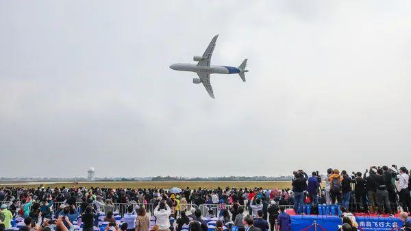 江西联通5G助力C919国产大飞机全球首秀