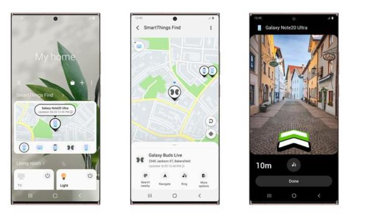 三星推出SmartThingsFind:并使用AR帮助你找到东西