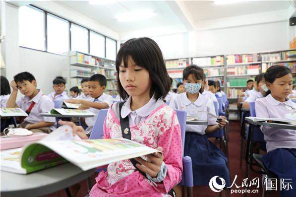 泰国推广数字中文课堂模式