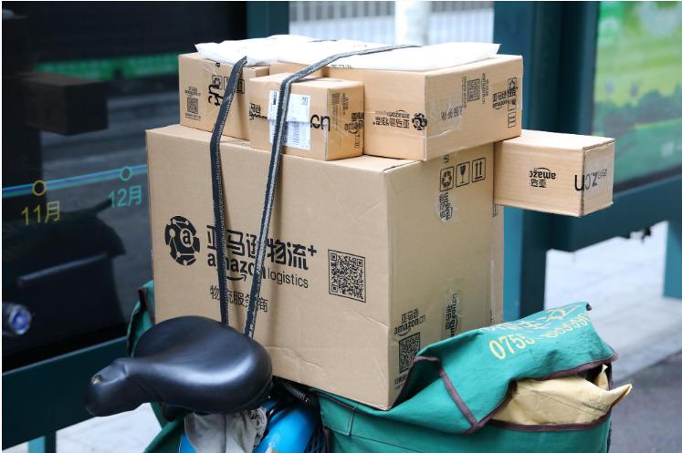 亚马逊自动包装机器人每小时可处理700个订单_跨境电商_电商报