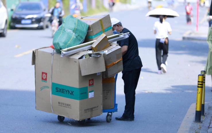 北京绿色交易所:双11期间近1亿件快递包装被回收_物流_电商报
