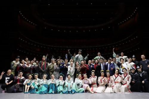 民族舞剧《花木兰》再度献演国家大剧院