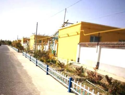 新疆和田:沙丘上建设新村 ,贫困户变身为种植能手