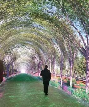 """乌鲁木齐新添加一处网红打卡地 ,西北最长的""""时光隧道""""落户"""