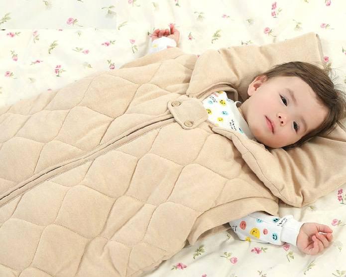 睡袋当被子,宝宝更容易感冒