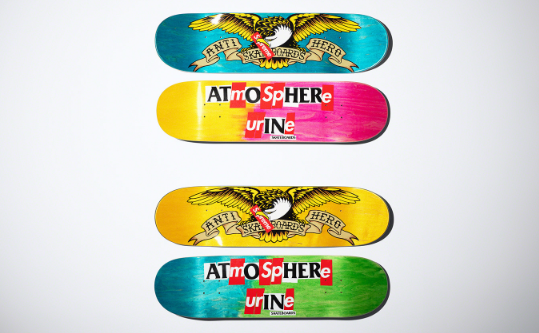 Supreme x ANTIHERO 联名系列单品1览