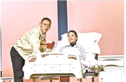 20年后,苗圃聂远又回到了话剧的舞台上