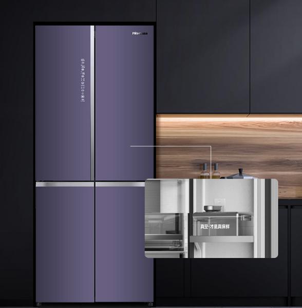 海信真空休眠冰箱512实力,让人们过上品质生活