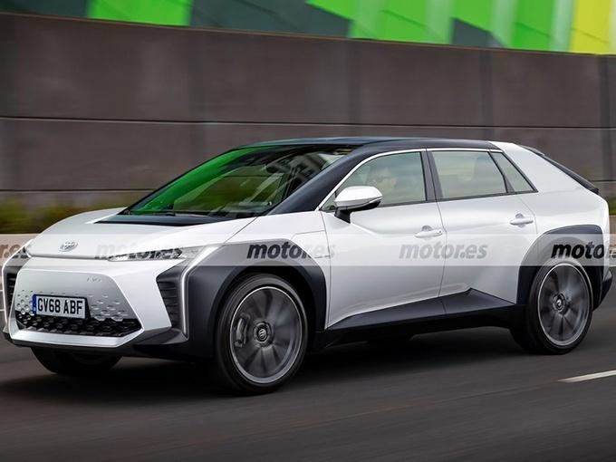丰田纯电动SUV曝光 或命名Toyota BZ3