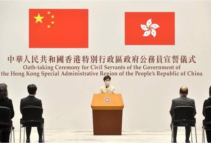 张建宗:香港公务员宣誓效忠,有助特区政府有效管治