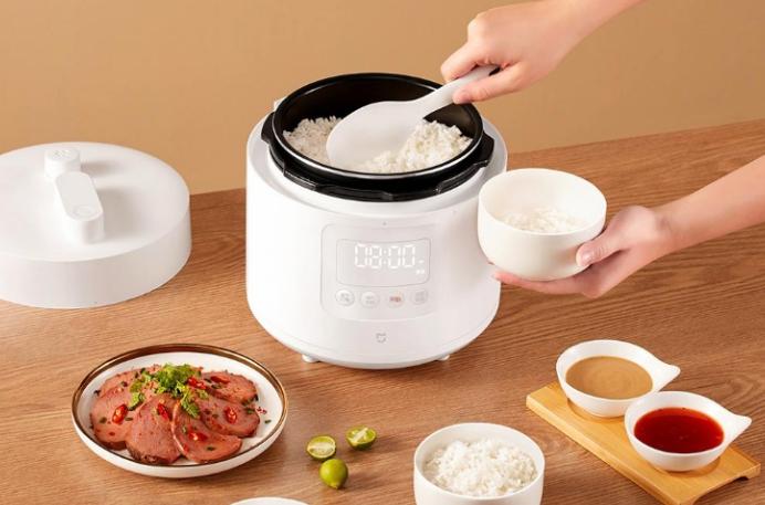 内置九种烹饪模式 ,米家智能电压力锅2.5L登场