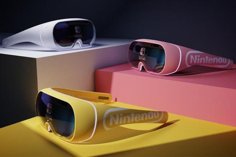 提供终极AR游戏体验的任天堂互动游戏耳机