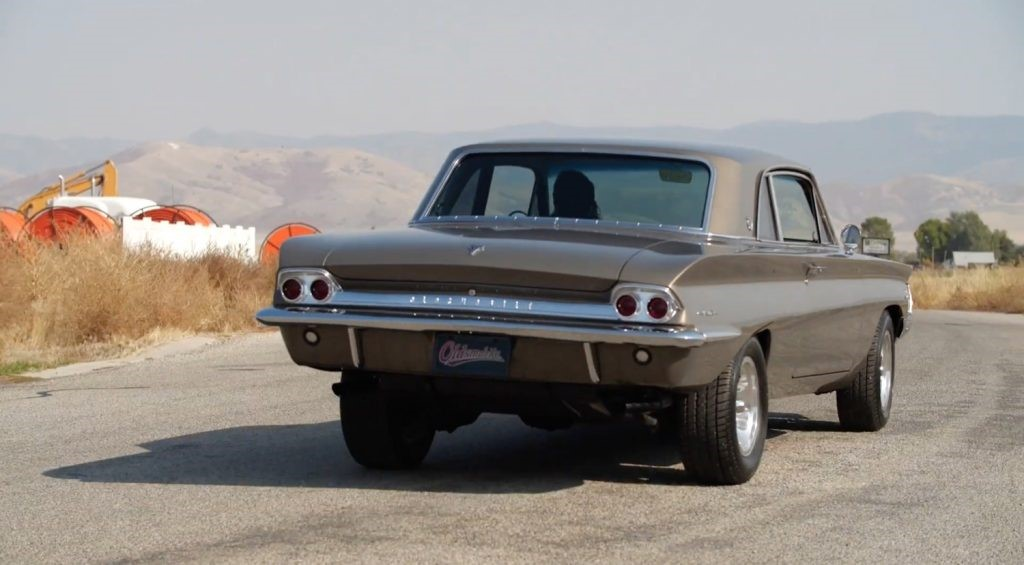 改型后,稀有的1962年Oldsmobile Cutlass F-85看上去很锋利