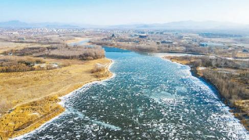 妫水河修复生态,建造冬奥景观的廊道