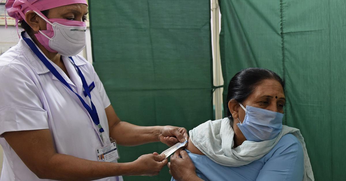 印度启动全国性新冠疫苗接种演习。(图源:法新社)