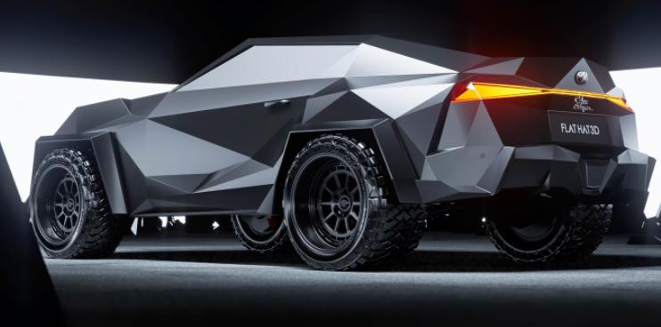 丰田supra概念车看起来像是下一款蝙蝠车