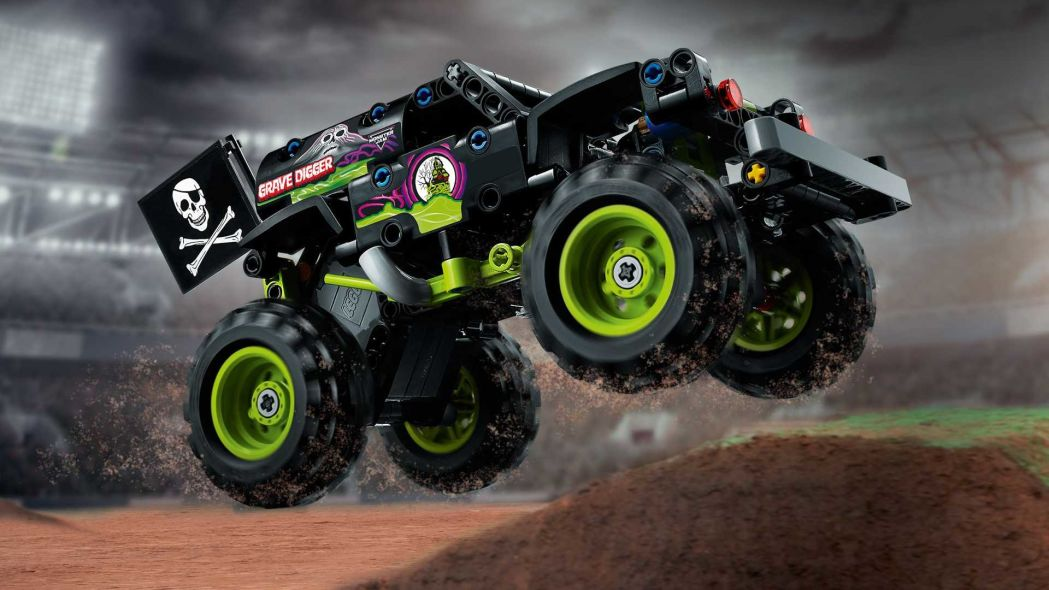 乐高技术公司在其产品目录中增添了2+1的怪物卡车