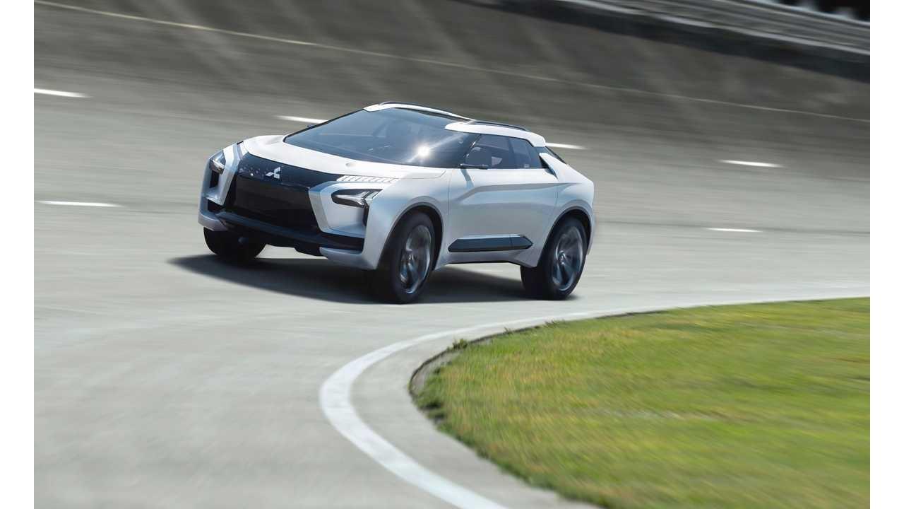 传言:三菱e-Evolution电动SUV将于2021年上市