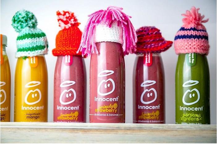 果汁品牌Innocent在社交媒体上大受欢迎
