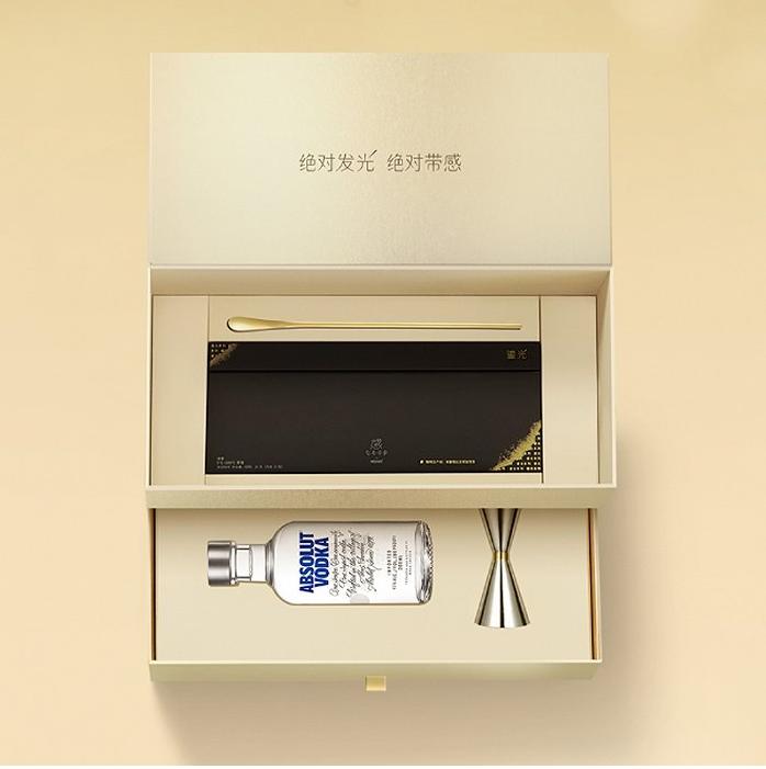 雀巢感觉咖啡店和绝对伏特加推出联合礼品盒