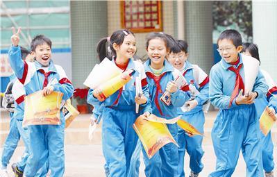 从现在起,北京的小学生们开始过寒假