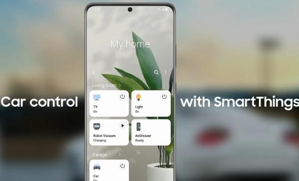 三星smartthings现在允许你用Android auto控制你的汽车