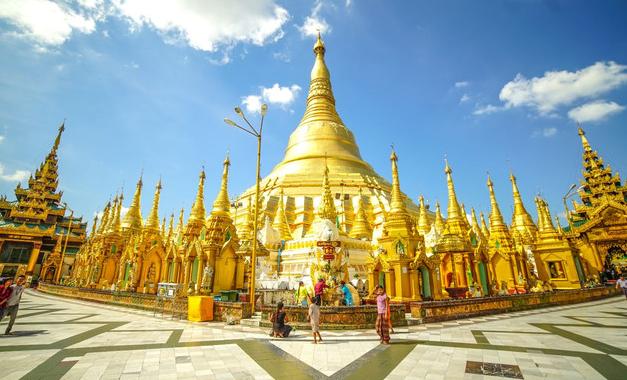 缅甸仰光机场开始运营了,通往多国航线复飞