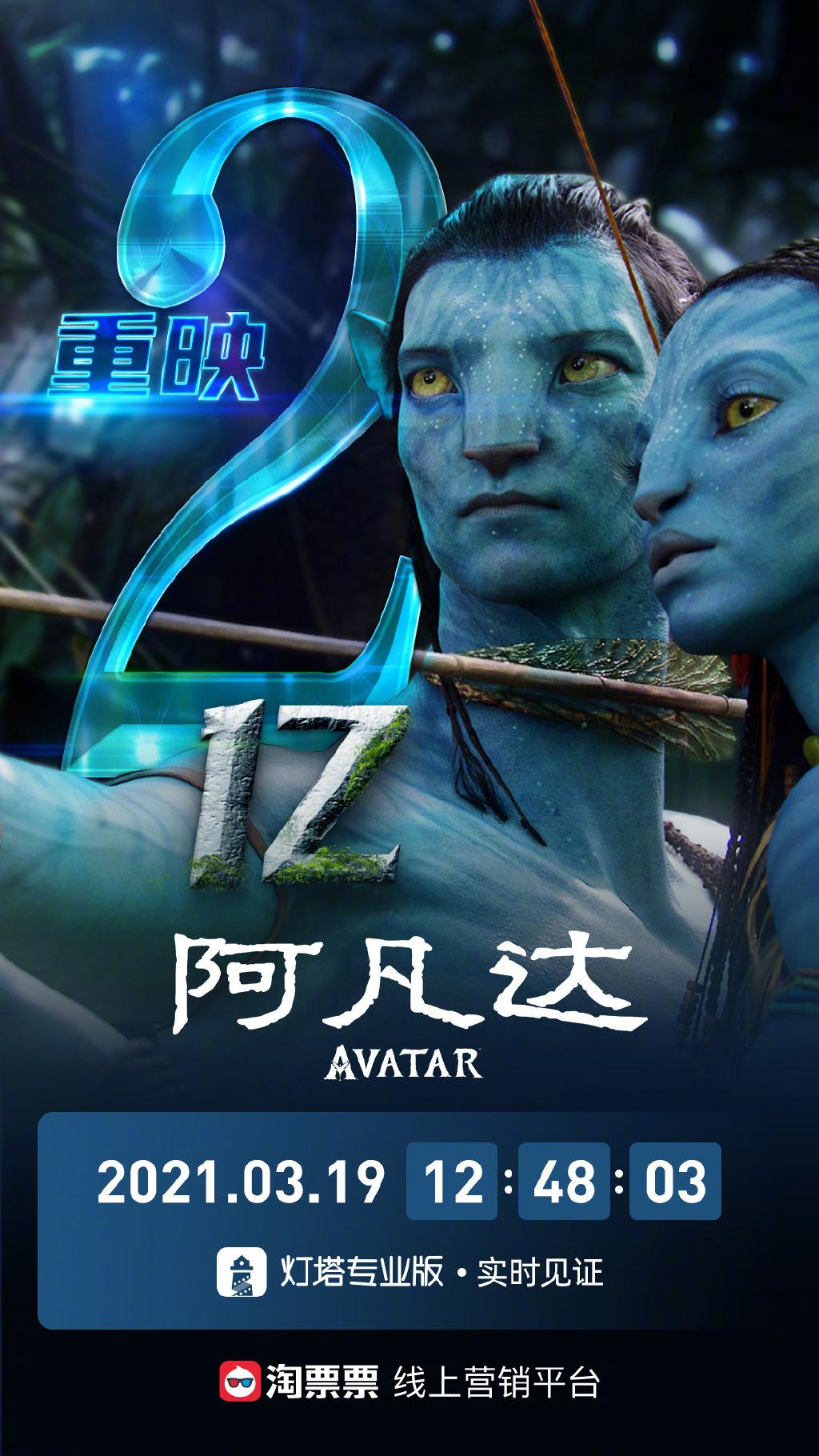 热度不减!《阿凡达》中国内地重映票房超过2亿元