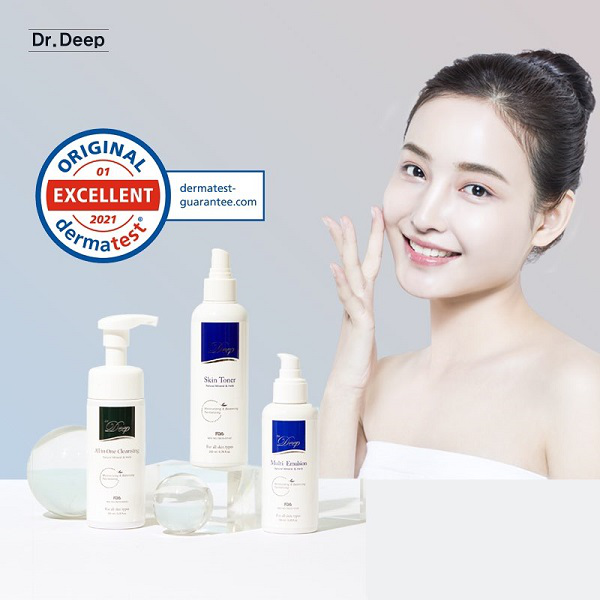 韩国Dr.Deep缔怡肤荣获德国医学化妆品测试并获最高等级