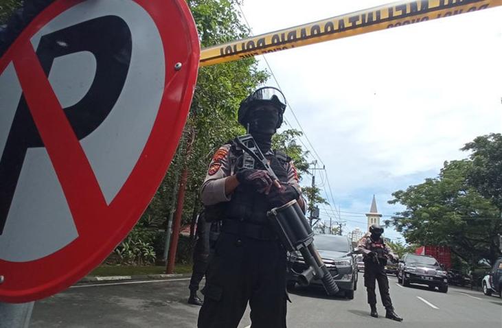 印尼警方确认望加锡教堂爆炸是自杀式袭击