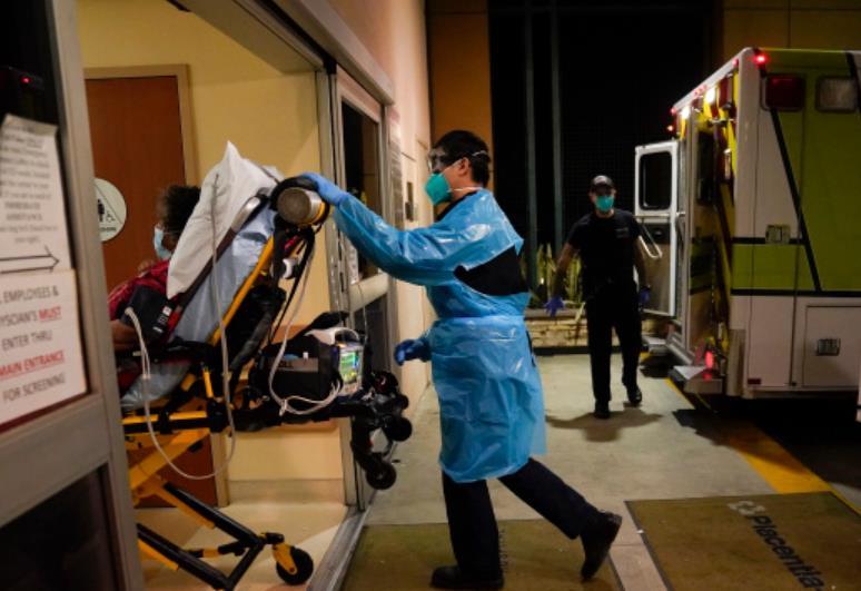 数读全球疫情:全球日增确诊超47万例  美国超1.3亿例病例连续四周增加