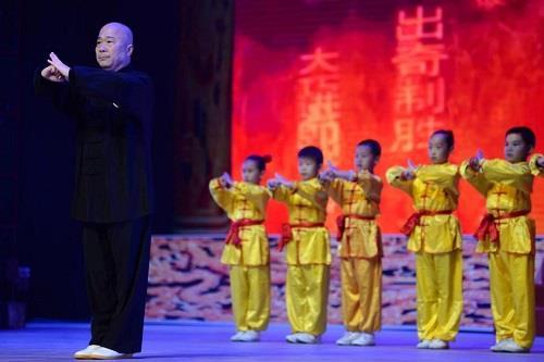 2020年北京西城区非遗季武术专场演出成功