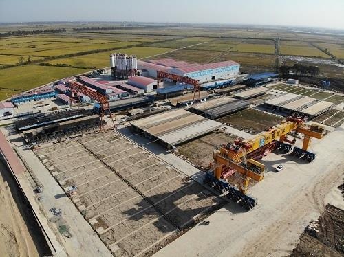 中国建筑股份有限公司首个梁场通过国家生产许可审查